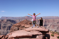 Athena at Grand Canyon West